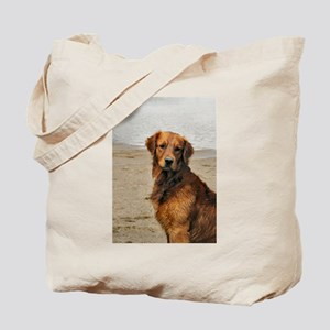 Lakeside Golden Tote Bag