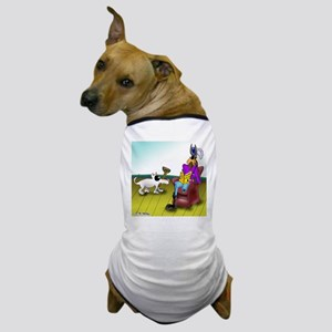 Fetching a Peg Leg Dog T-Shirt