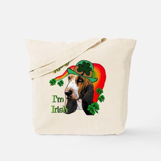 St. Pat's Basset Hound Tote Bag