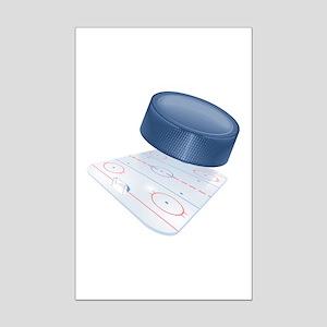 Hockey Mini Poster Print