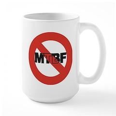 NoMTBF3x3 Mugs