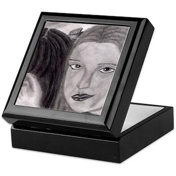 Prom Lovers Jewelry Keepsake Box