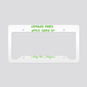 Pegs License Plate Holder