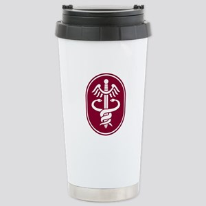 Caduceus Stainless Steel Travel Mug