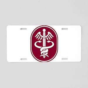 Caduceus Aluminum License Plate