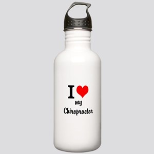 I Love My Chiropractor Stainless Water Bottle 1.0L