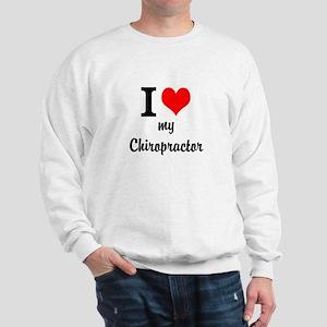 I Love My Chiropractor Sweatshirt
