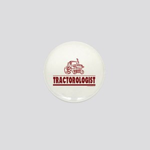 Humorous Tractor Mini Button