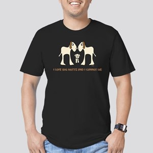 I Love Big Mutts and I Cannot Men's Fitted T-Shirt