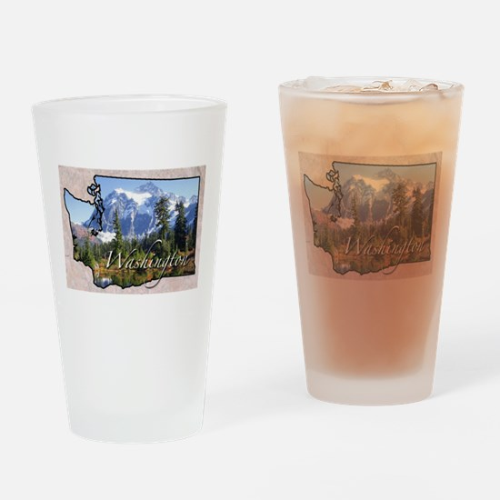 Unique Washington Drinking Glass
