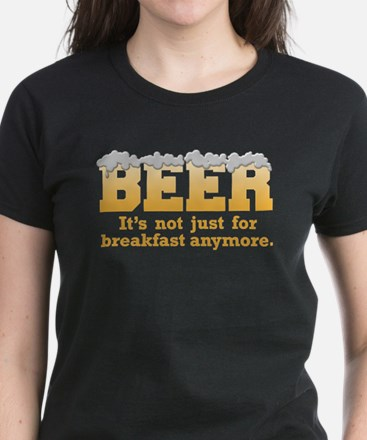 Beer/Brekkie Women's Dark T-Shirt