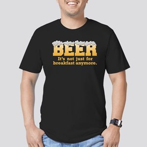 Beer/Brekkie Men's Fitted T-Shirt (dark)