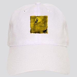 Flying Halloween Witch Cap