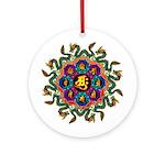 Ryuu-eto1 Ornament (Round)