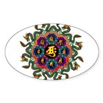 Ryuu-eto1 Sticker (Oval 10 pk)