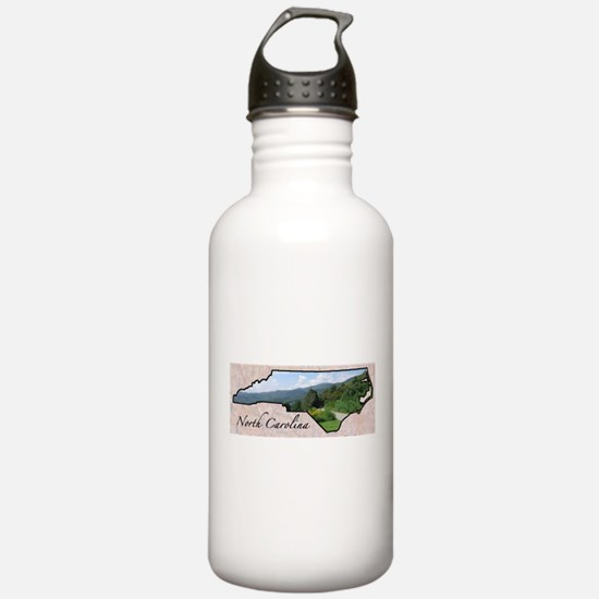 Funny North carolina Water Bottle
