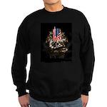 Twin Towers In His Hands Sweatshirt (dark)