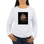 Twin Towers In His Hands Women's Long Sleeve T-Shi