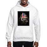 Twin Towers In His Hands Hooded Sweatshirt