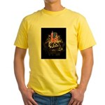Twin Towers In His Hands Yellow T-Shirt