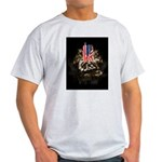Twin Towers In His Hands Light T-Shirt