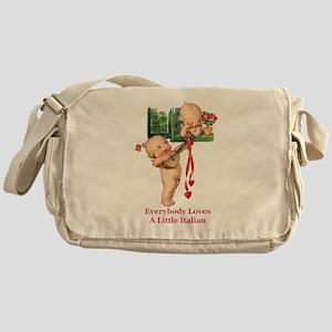 Everyone Loves a Little Italian Messenger Bag