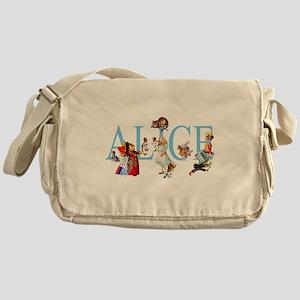 ALICE & FRIENDS Messenger Bag