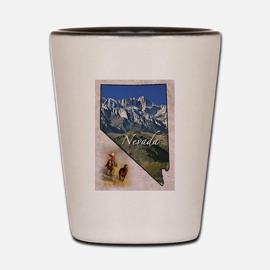 Cute Nevada Shot Glass