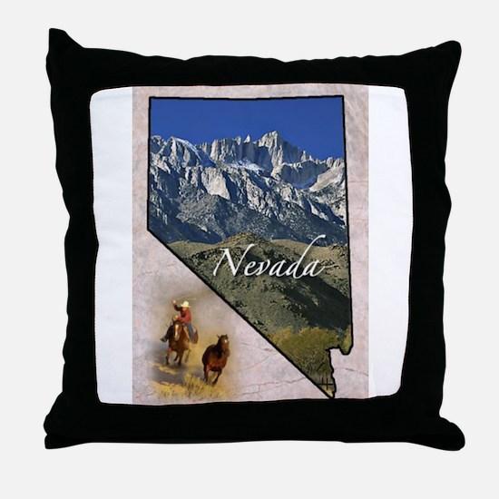 Unique States Throw Pillow