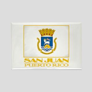 San Juan Flag Rectangle Magnet