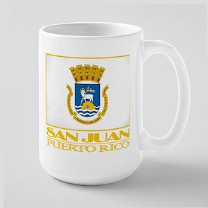 San Juan Flag Large Mug