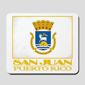 San Juan Flag Mousepad
