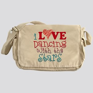 I Love Dancing wtih the Stars Messenger Bag