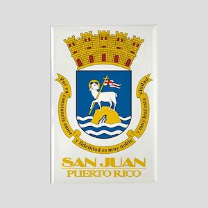 San Juan COA Rectangle Magnet