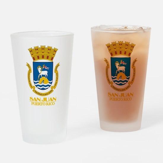 San Juan COA Drinking Glass