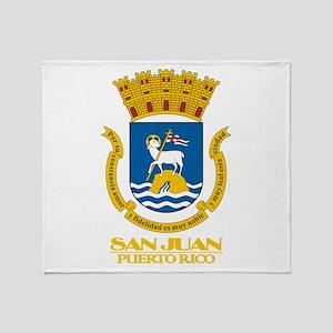 San Juan COA Throw Blanket