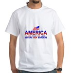 Border Patrol Secure Our Bord White T-Shirt
