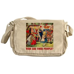 WHO ARE YOUR PEOPLE? Messenger Bag