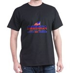 Border Crossing Secure Our Bo Black T-Shirt