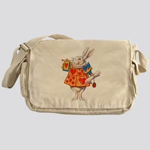 ALICE - THE WHITE RABBIT Messenger Bag