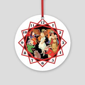 ALICE IN WONDERLAND - RED CHA Ornament (Round)