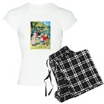 ALICE & THE WHITE KING Women's Light Pajamas