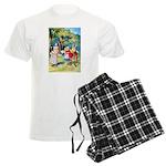 ALICE & THE WHITE KING Men's Light Pajamas