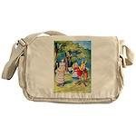 ALICE & THE WHITE KING Messenger Bag