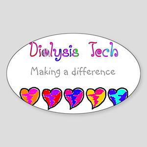 Dialysis III Sticker (Oval)