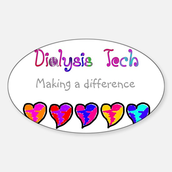 Dialysis III Sticker (Oval)