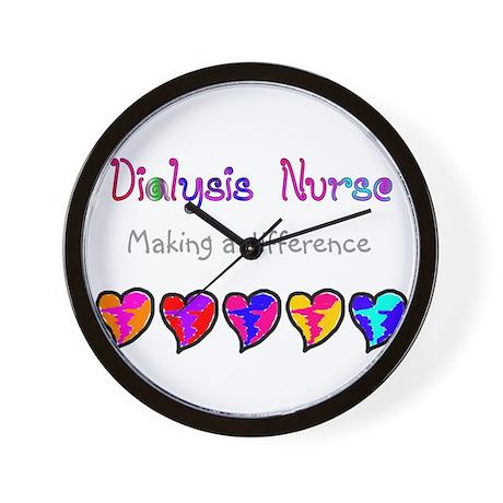 Dialysis III Wall Clock