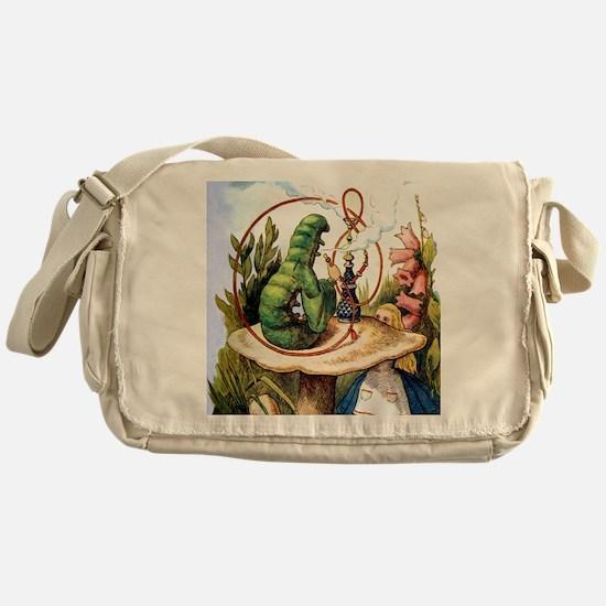 ALICE & THE CATERPILLAR Messenger Bag
