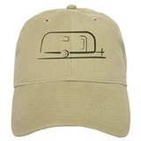 Airstream trailer Baseball Cap