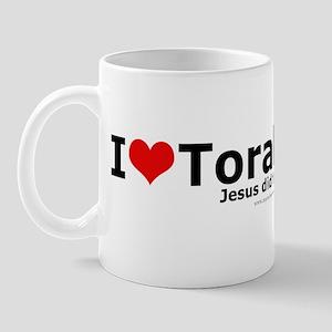 I Love Torah - Jesus Did Too Mug